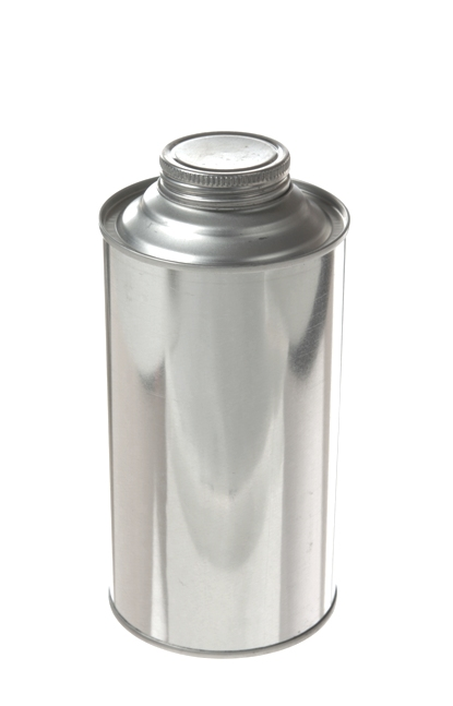 Quart Can - Dome Style with Screw On Lid