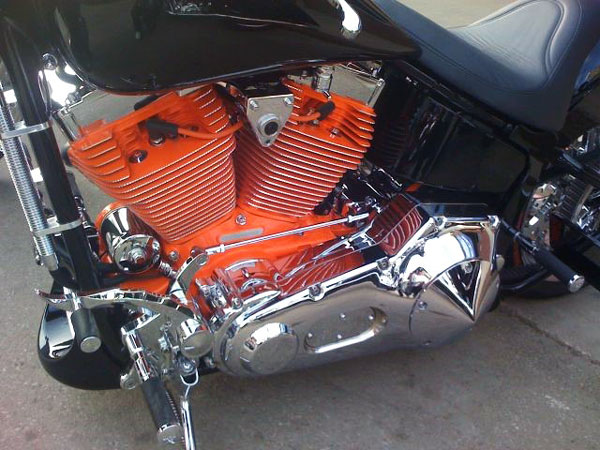 Motorcycle Engine Paint Kit