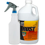 RustBlast Gallon w/ Spray Bottle and Sprayer - Powerful Metal Acid Etch and Rust Remover