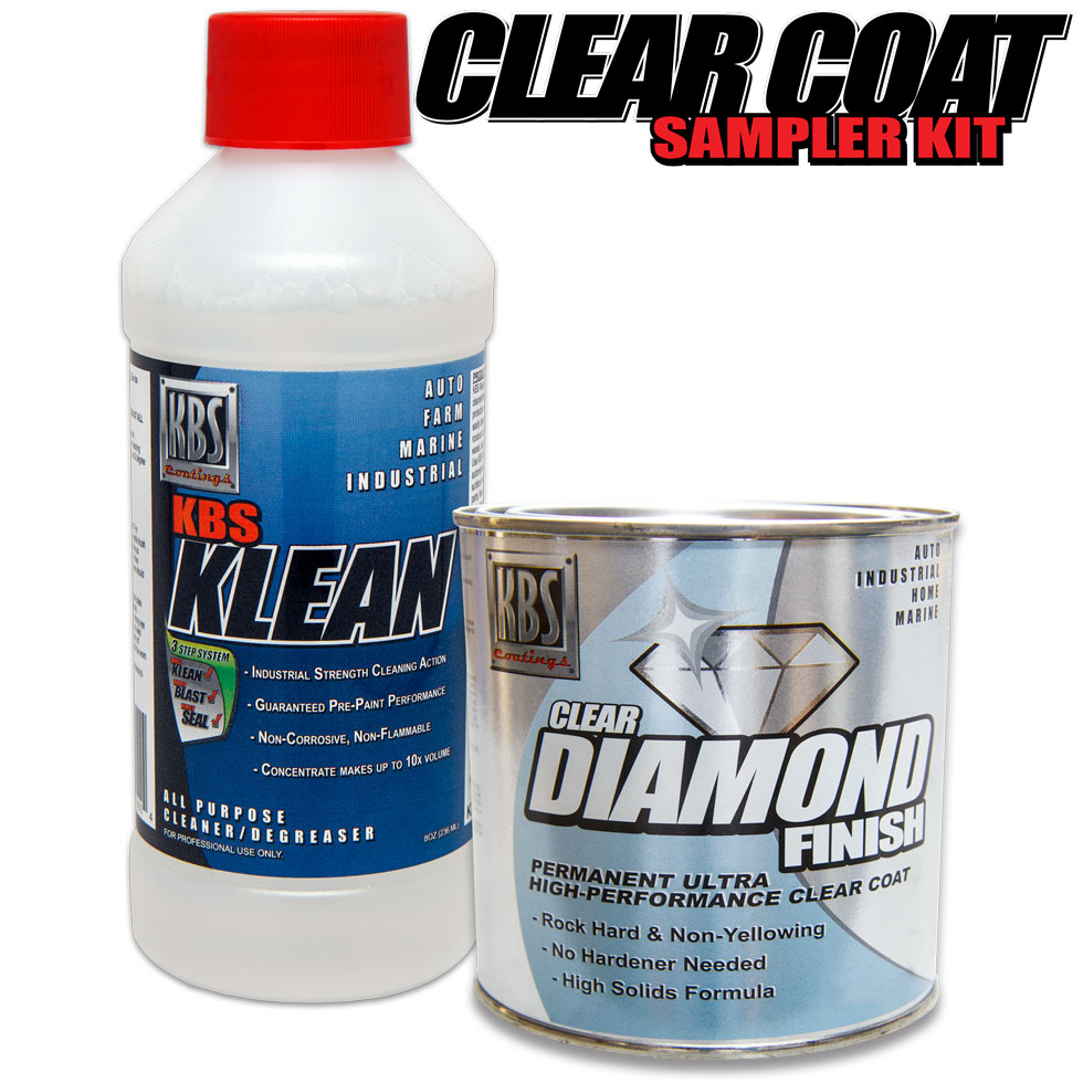 Clear Coat Sampler Kit
