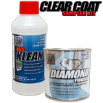 Clear Coat Sampler Kit