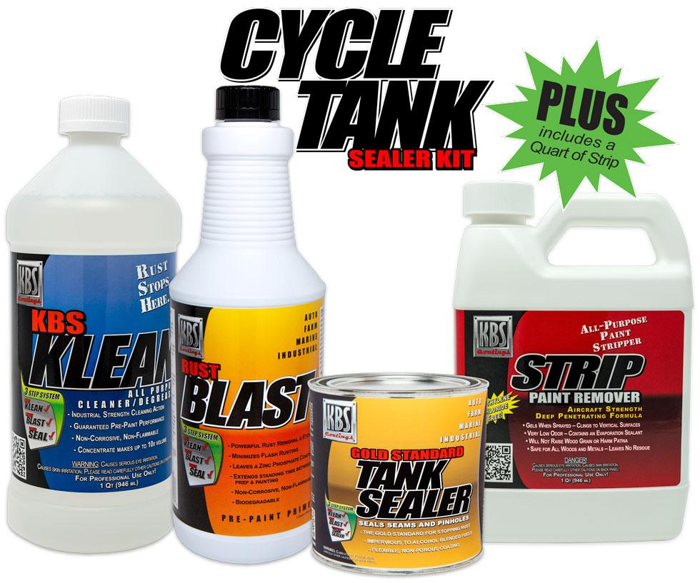 Cycle Tank Sealer PLUS Kit