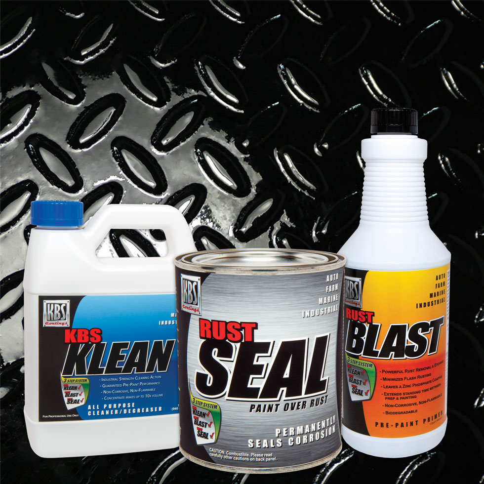 Frame Coater Kit - Gloss Black | Frame Paint Kit | Chassis Paint Kit | Rust Prevention