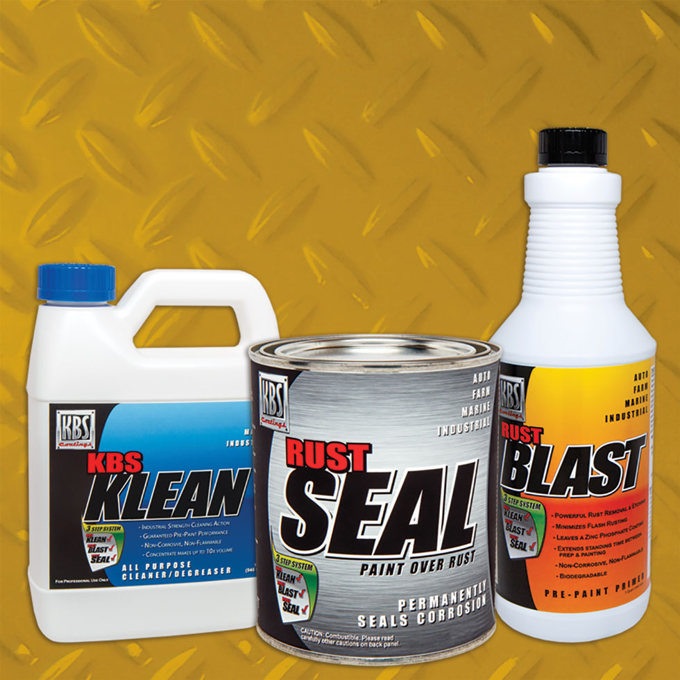 Frame Coater Kit - Cat Yellow | Frame Paint Kit | Chassis Paint Kit | Rust Prevention