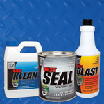 Frame Coater Kit - Safety Blue | Frame Paint Kit | Chassis Paint Kit | Rust Prevention
