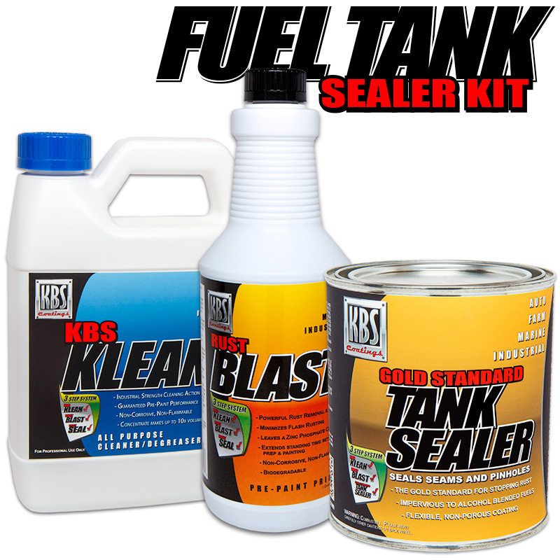 Auto Gas Tank Sealer Kit - Gas Tank Sealer - KBS Coatings