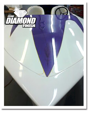 Direct To Metal Clear Coat - DiamondFinish Clear