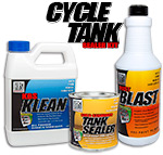 Cycle Tank Sealer Plus Kit