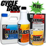 KBS Coatings Cycle Tank Sealer PLUS Kit
