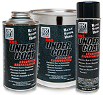 KBS UnderCoat - Solvent-Based Rubberized Undercoating