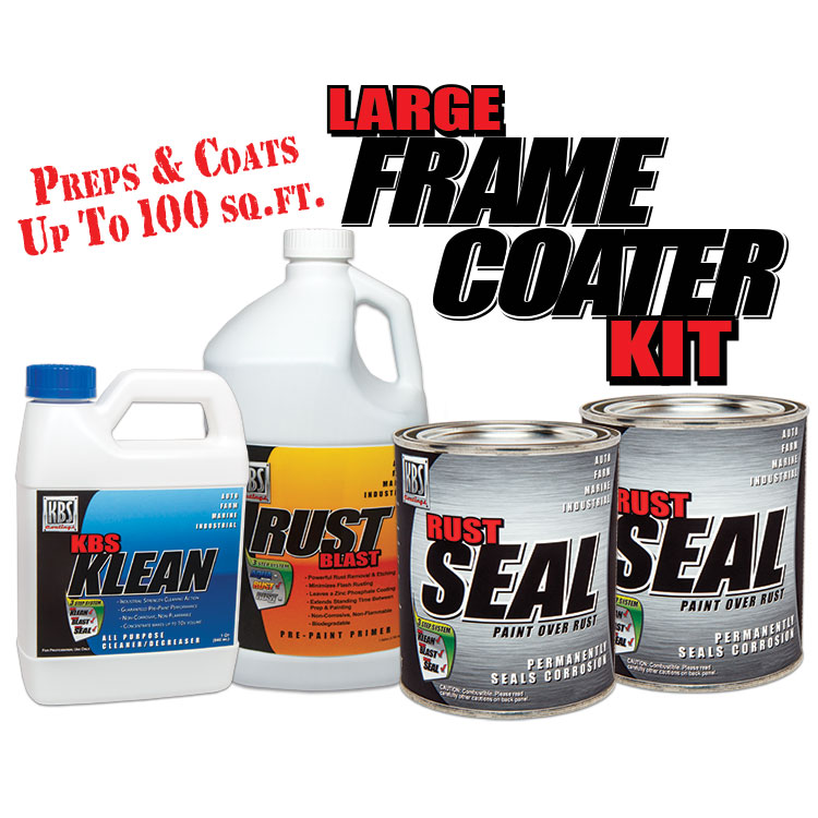 Large Frame Coater Kit