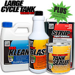 Large Cycle Tank Sealer PLUS Kit