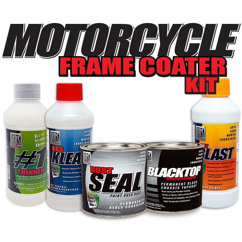 MotorCycle Frame Coater Kit
