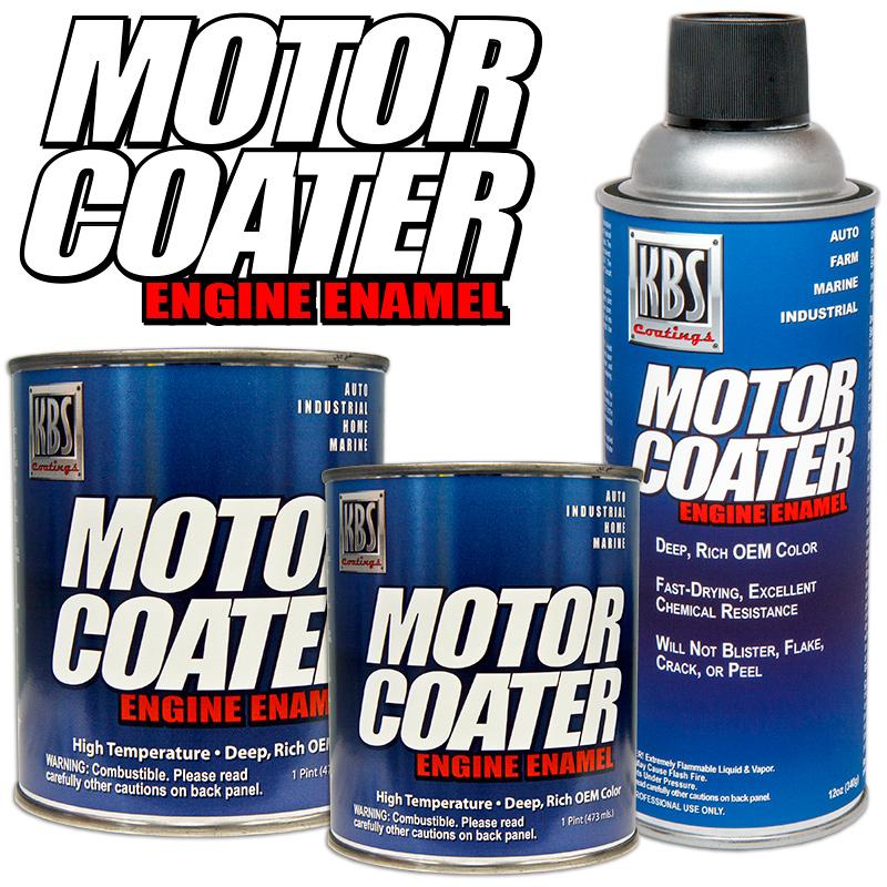 Motor Coater Engine Paint