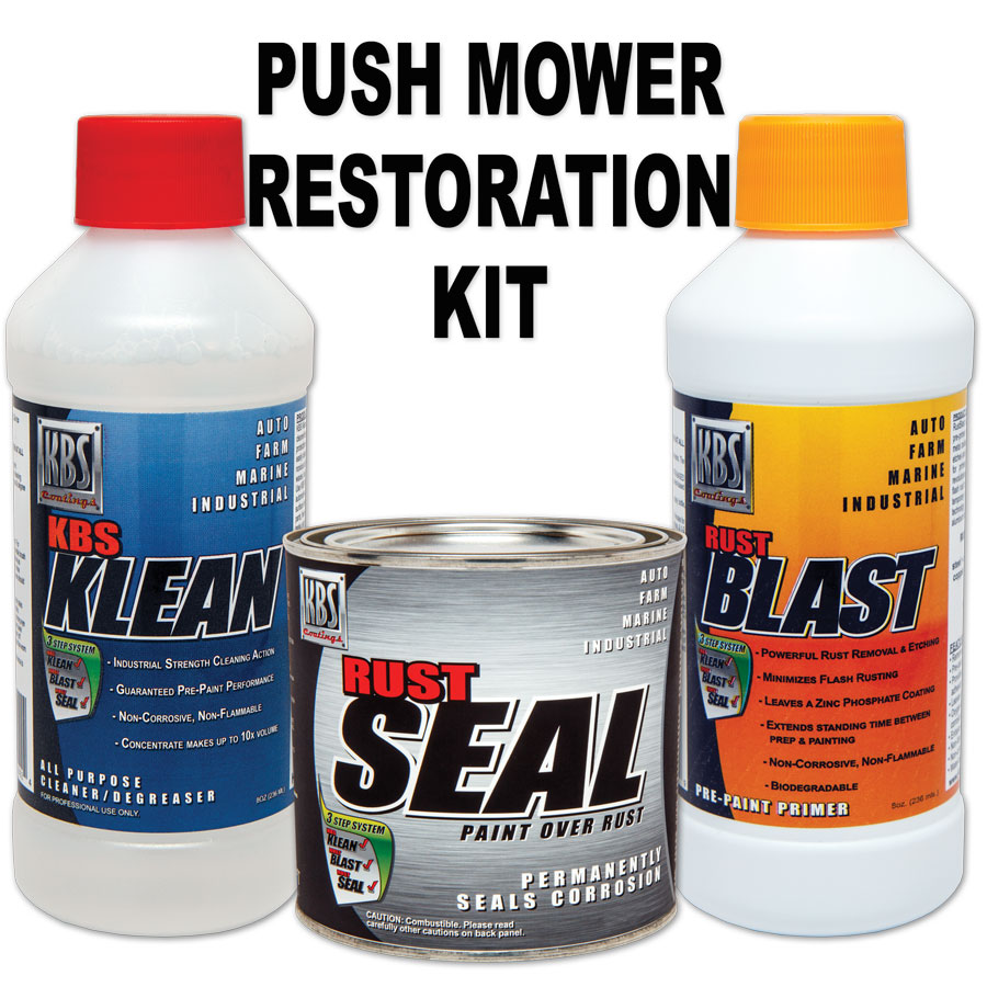 Push Mower Deck Paint Kit