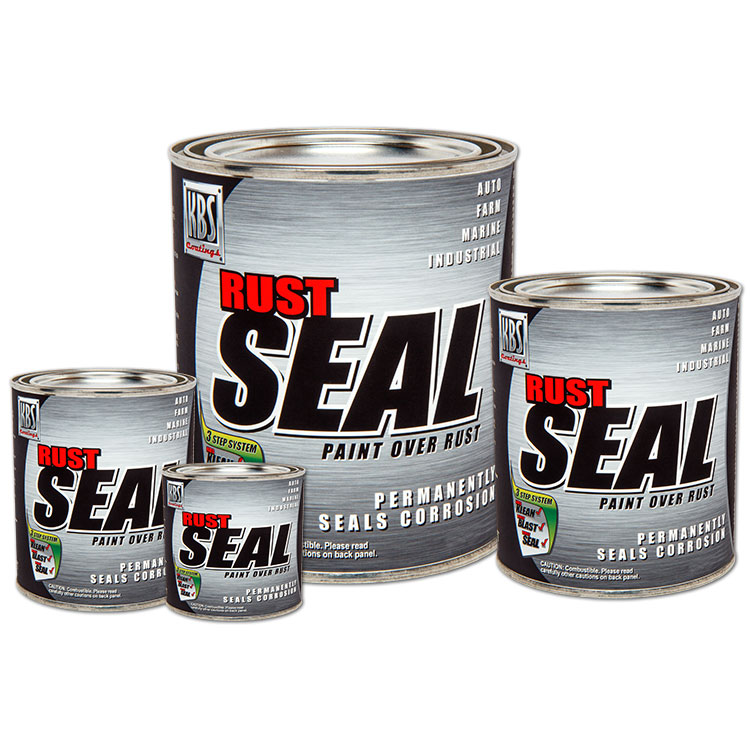 RustSeal - Rust Prevention - Stop Rust Paint - Frame Paint and Concrete Sealer