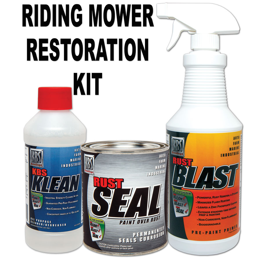 Rising Mower Deck Paint Kit