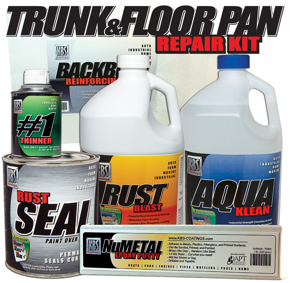 Trunk and Floorpan Repair Kit