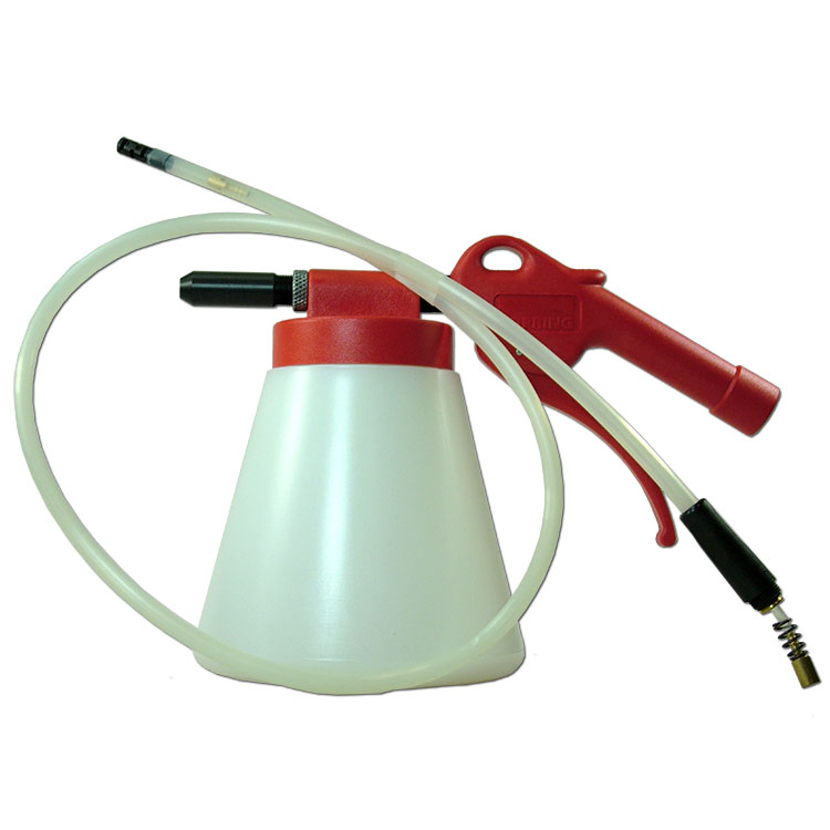 Underseal Spray Gun & 360° Spray Probe