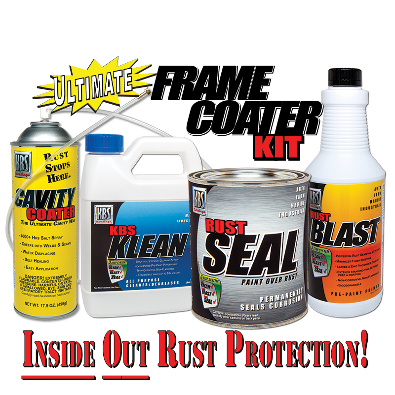 Ultimate Frame Coater Kit - Stop Chassis Rust From the Inside Out
