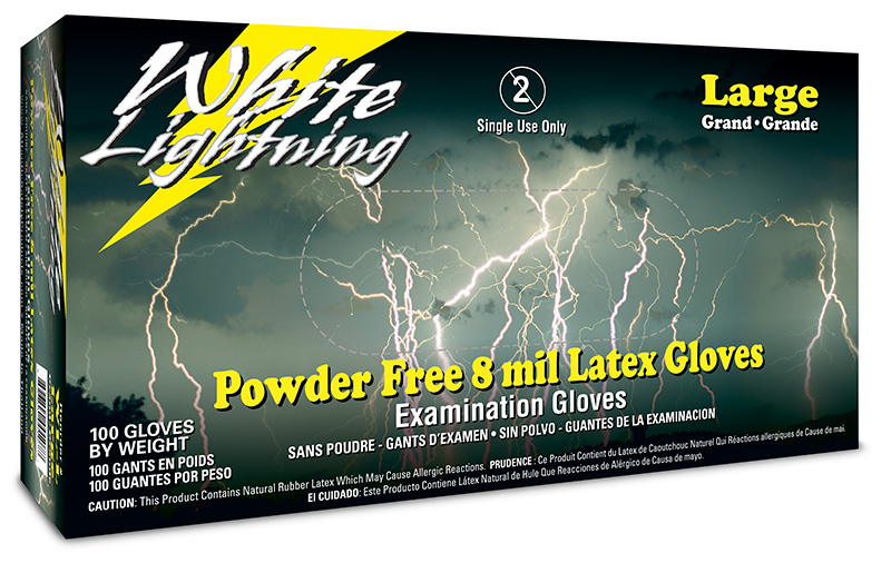 White Lightning Gloves
