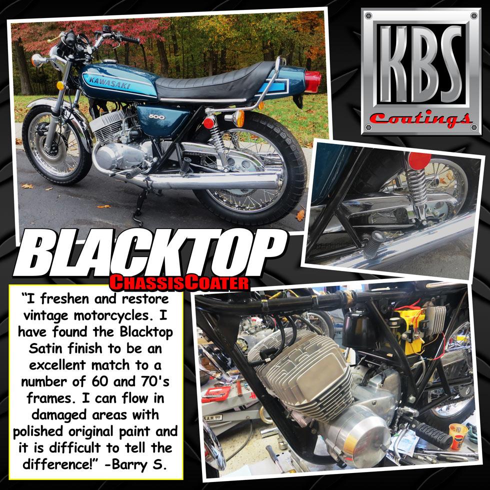 Motorcycle Frame Coater Kit