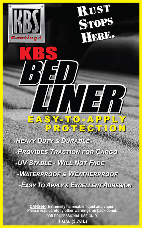 7bdf23a7b3140 KBS Bed Liner - Easy To Apply Durable UV Stable Bed Liner