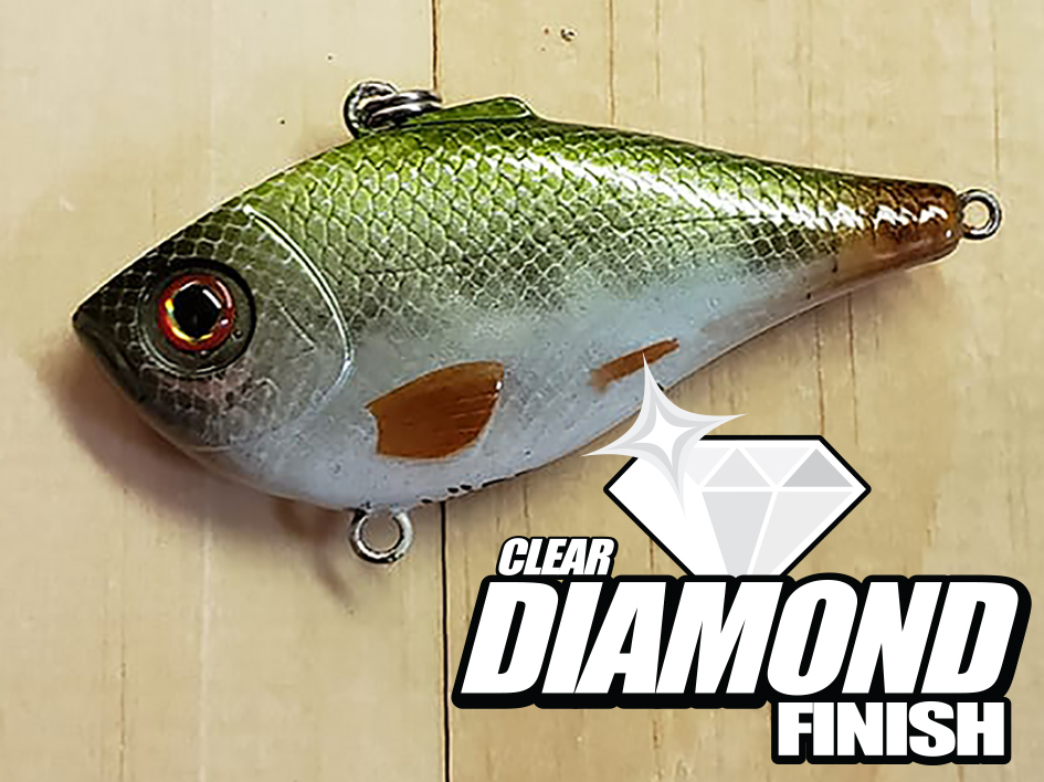 Fishing Lure Clear Coat - Crankbait Clear Coat