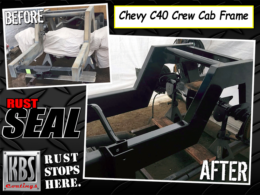 Frame Paint for C40 Crew Cab