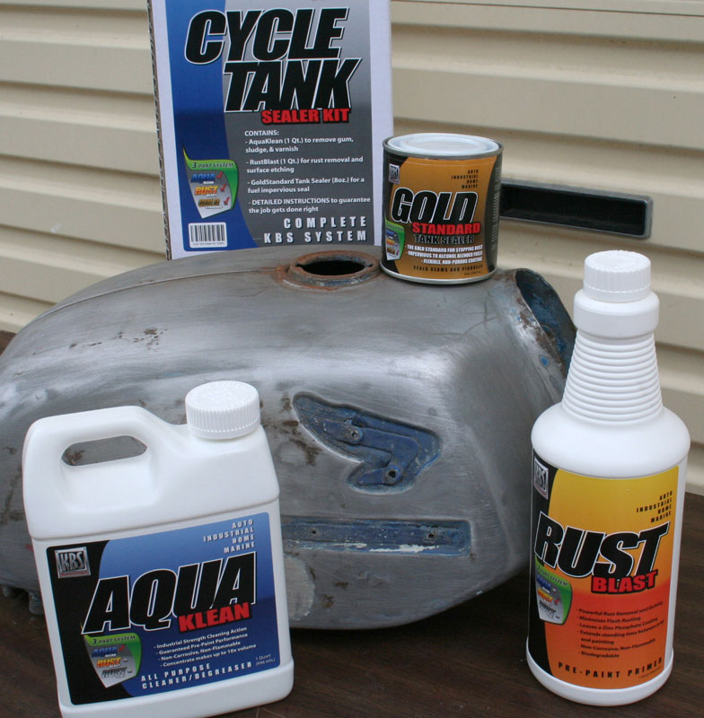 how to seal fuel tank