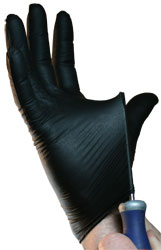 Black Lightning Gloves